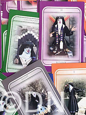 cards from the Tarot of Sister Who